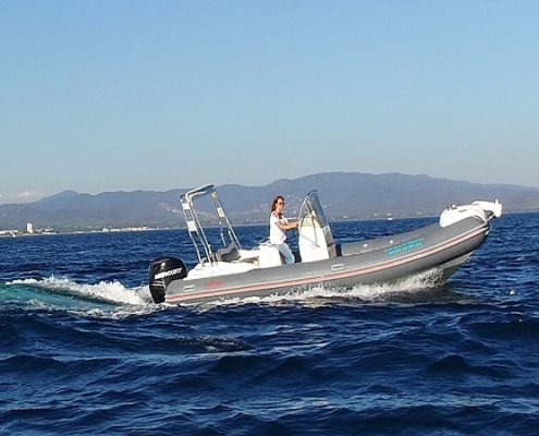 rigid inflatable boat King 700 to book at Hyères, France