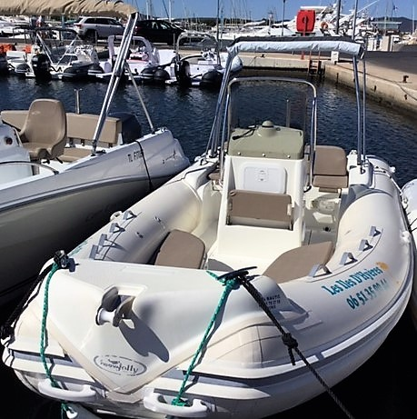 Rigid inflatable boat NJ Freedom 590 to book at Hyères, France