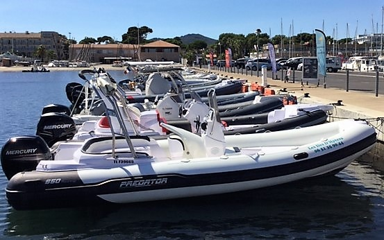 Rigid inflatable boat Predator 650 for rent in Hyères, France