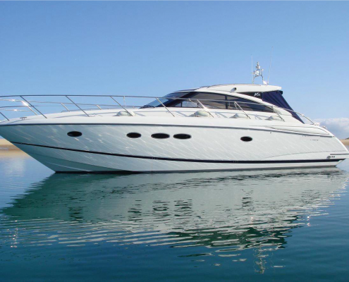cruiser boat for rent Princess 45