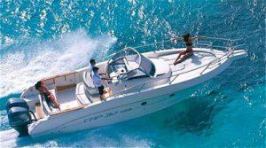cruiser boat for rent Capelli 32 WA