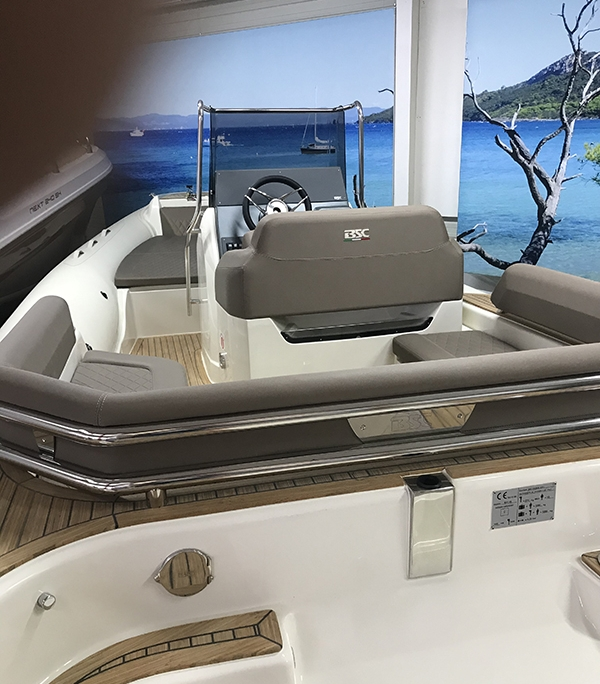 rigid inflatable boat BSC 65 to rent at Hyères, France