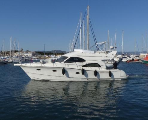 Cruiser boat Rodman 41 Fly
