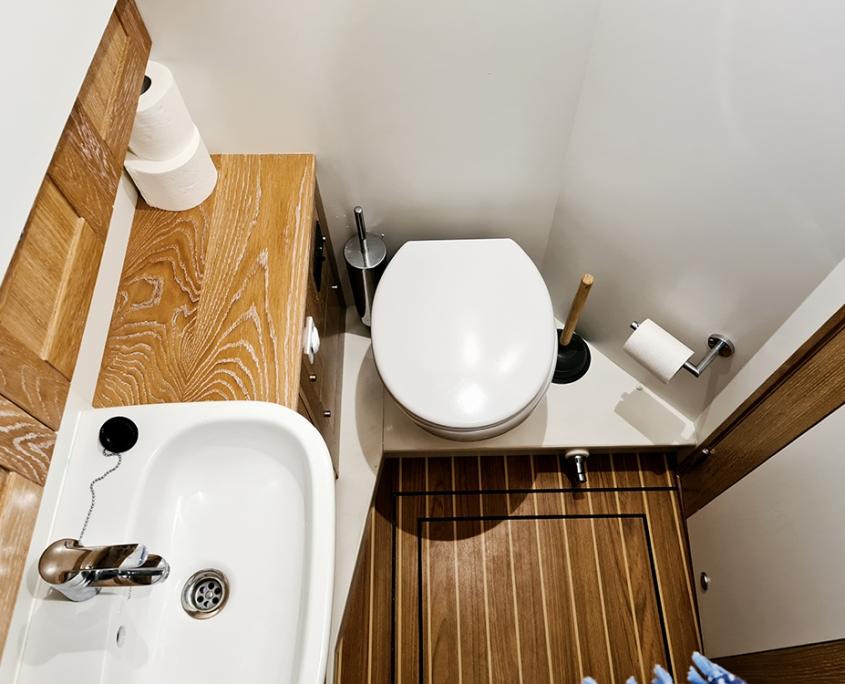 Vedette Menorquin 34 diesel toilettes