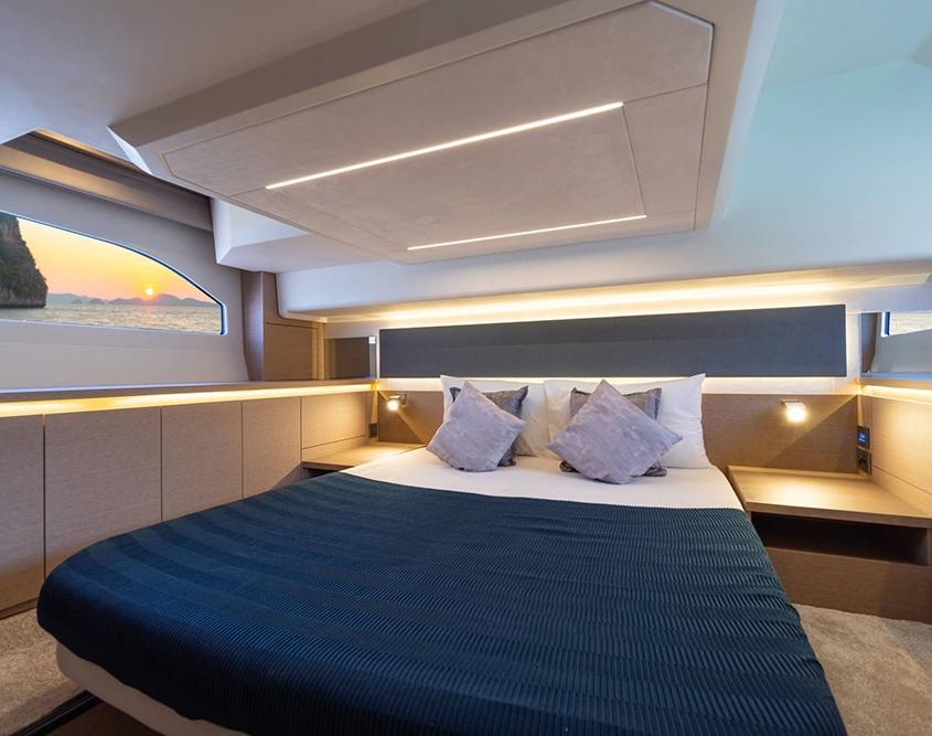 vedette Prestige 420 cabine lit double