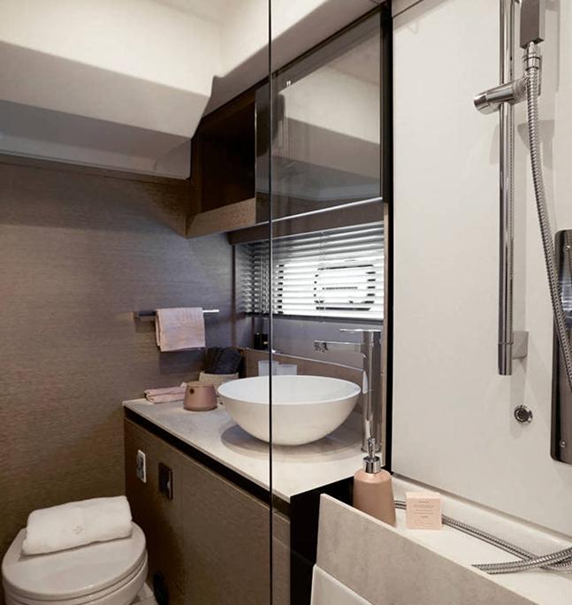 vedette Prestige 420 salle d'eau