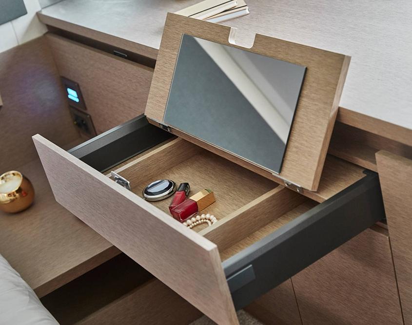 vedette Prestige 420 rangement tiroir