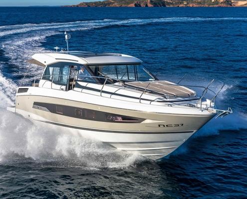 Cruiser boat NC 37